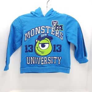 Boys Sz 5t Disney Monsters University Sweat Shirt